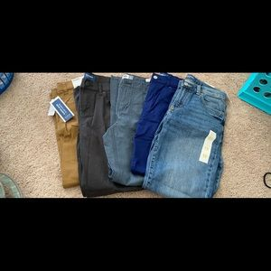Lot of boys pants/1pr of shorts NWT Old Navy